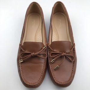 Michael Kors Sutton Moc Leather Loafers